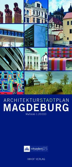 Architekturstadtplan Magdeburg