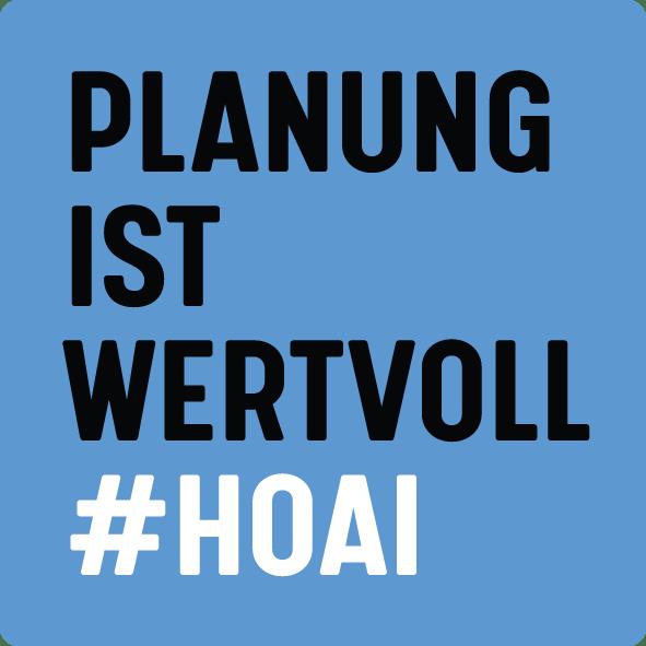 Planung ist wertvoll #HOAI