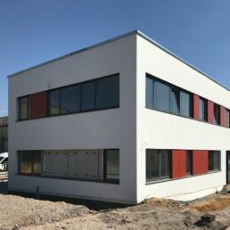 Feuerwehrgebäude mit integrierter Rettungswache, Coswig (Anhalt)