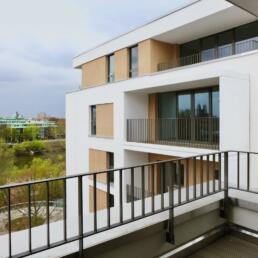 Wohnbau Turmschanzenstraße, Umbau und Sanierung, Magdeburg