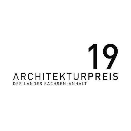 Logo Architekturpreis des Landes Sachsen-Anhalt 2019