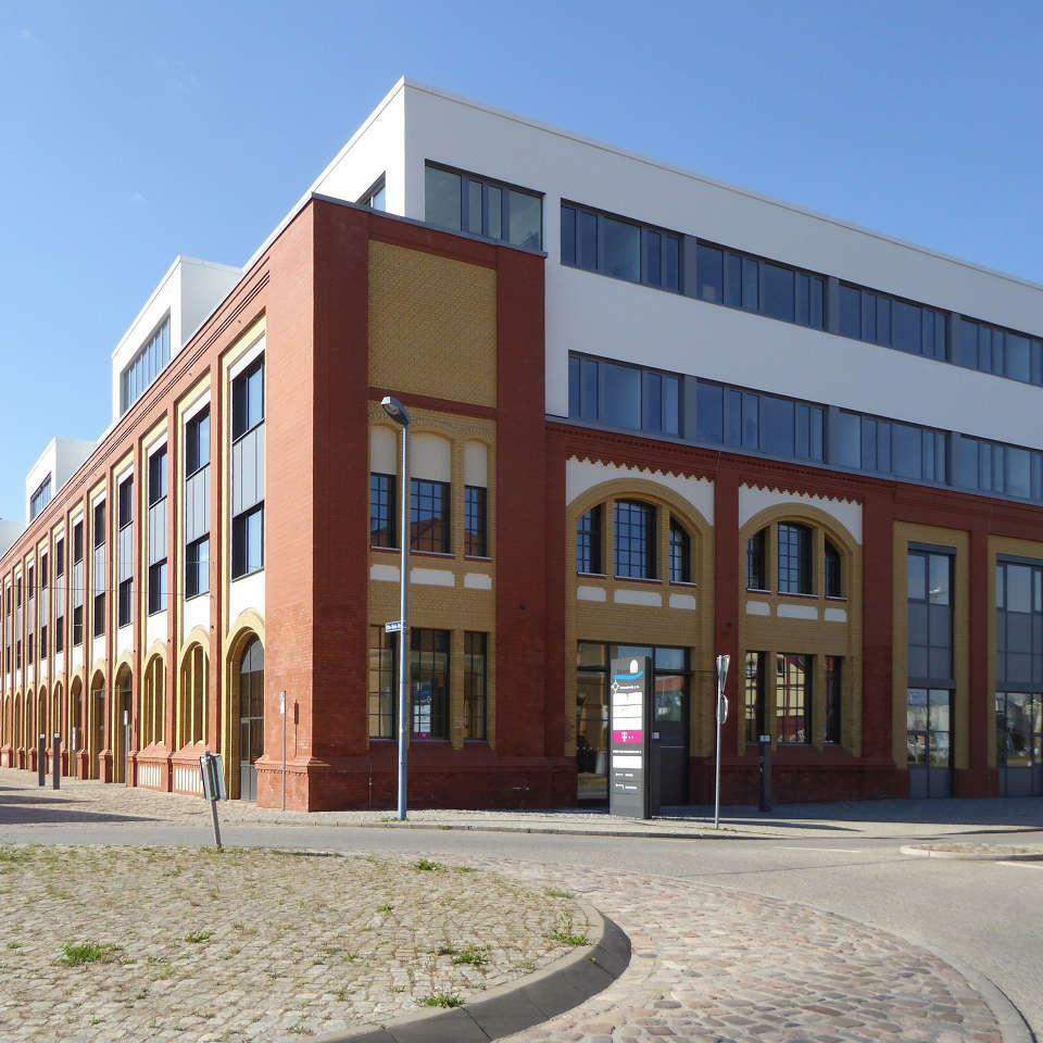 ElbArkaden, Umbau Speicher A, Magdeburg