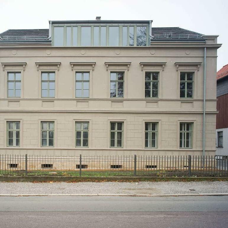 Villa Herzogstraße, Sanierung, Blankenburg (Harz)