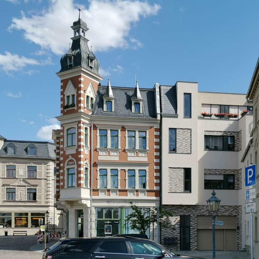 Wohnquartier Saalplatz, Revitalisierung, Bernburg (Saale)