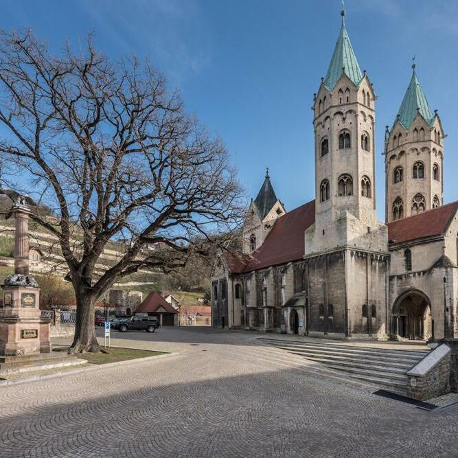 Kirchplatz St. Marien, Freyburg (Unstrut)