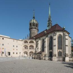 Schloss Wittenberg, Umbau und Sanierung, Lutherstadt Wittenberg