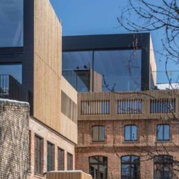 Textilmanufaktur, Umbau und Erweiterung, Halle (Saale)