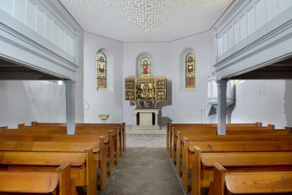 Kirche St. Georg Cösitz, Innenraumgestaltung