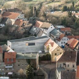Luthers Elternhaus, Sanierung und Erweiterung, Mansfeld