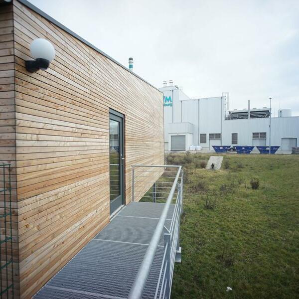 Besucherpavillon Biomasseheizkraftwerk der SWM, Magdeburg