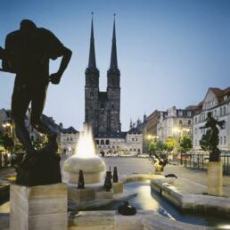 Hallmarkt, Halle (Saale)