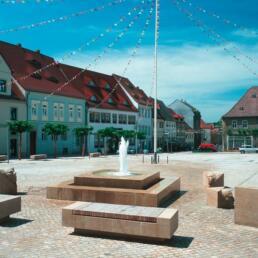 Marktplatz, Freyburg (Unstrut)