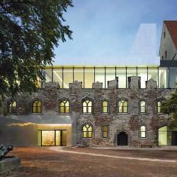 Moritzburg, Umbau und Erweiterung, Halle (Saale)
