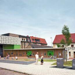 Lesezeichen Salbke, Magdeburg