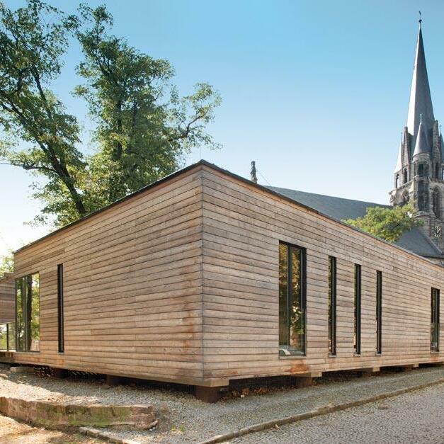 Martinszentrum, Umbau und Erweiterung der Martinskirche, Bernburg (Saale)