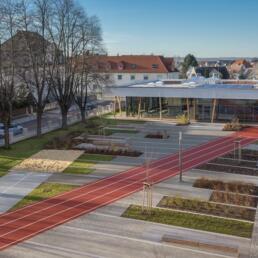 Dr. Frank Gymnasium, Mensa, Staßfurt