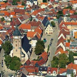 Innenstadtsanierung, Sangerhausen