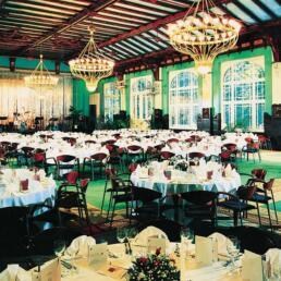 Gaststätte, Ballsaal im Herrenkrugpark, Instandsetzung, Magdeburg