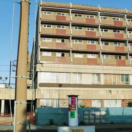 Wohnblock, Erweiterung und Sanierung, Magdeburg