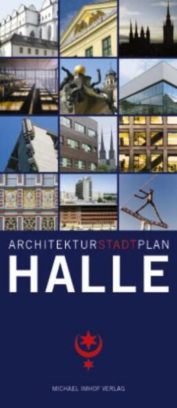 Architekturstadtplan Halle Cover