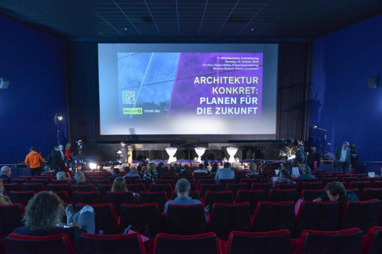 11. Mitteldeutscher Architektentag Dessau, 10. Oktober 2020