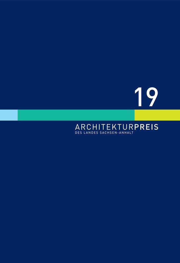 E-Paper Architekturpreis des Landes Sachsen-Anhalt 19
