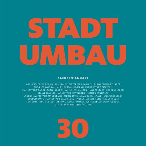 STADTUMBAU 30 Cover