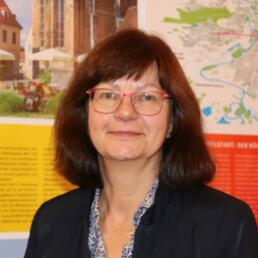 Martina Benzko, Stadtplanerin, Vorstand der Architektenkammer Sachsen-Anhalt