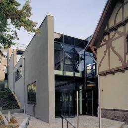 Max-Planck-Institut für ethnologische Forschung, Neubau und Umbau Villa, Halle (Saale)