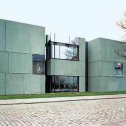 Hochschulcampus: Campus 2000 der Hochschule Anhalt (FH): Mensa, Dessau-Roßlau