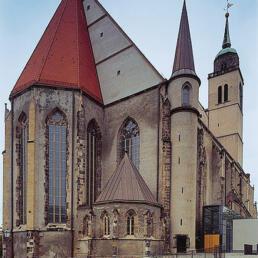 St. Johannis, Wiederaufbau und Ergänzung, Magdeburg
