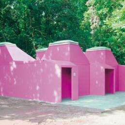 Sanitäranlage für das Internationale Jugend- und Begegnungszentrum (IJBZ) Barleber See, Magdeburg