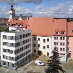 Barockgebäude, Sanierung und Erweiterung, Weißenfels