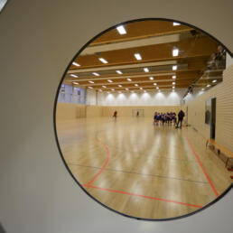 Bildungszentrum Bestehornpark, Zweifeldsporthalle, Aschersleben
