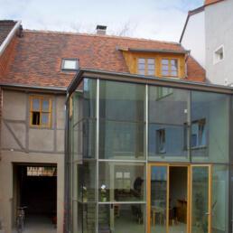 Denkmalgeschütztes Fachwerkwohnhaus, Sanierung, Aschersleben