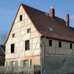 Denkmalgeschütztes Lehmwellerhaus mit Fachwerk, ökologische Sanierung, Weißenfels OT Kriechau