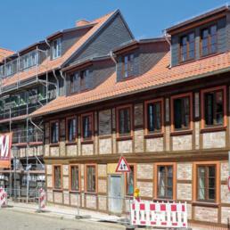 Fachwerkhäuser, Umbau, Wernigerode