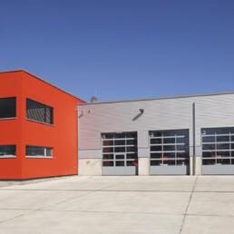 Gerätehaus der Freiwilligen Feuerwehr Olvenstedt, Magdeburg