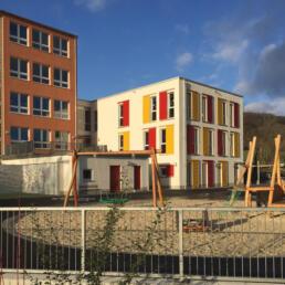 Integrative Kindertagesstätte, Gebäude und Freianlagen, Naumburg (Saale) OT Kleinjena