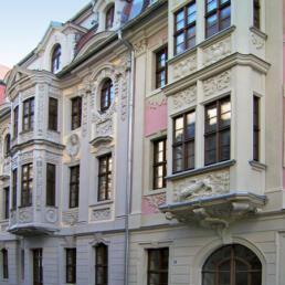 Kavaliershäuser - Technisches Rathaus, Weißenfels
