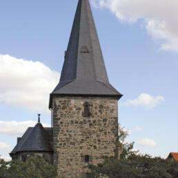 Kirche, Sanierung, Poserna