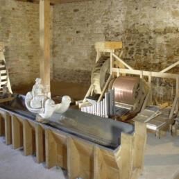 Kloster Michaelstein: Ausstellungspavillon für eine