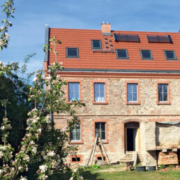 Kulturhof, Sanierung, Wettin-Löbejün OT Gimritz