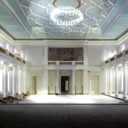 Leopoldina-Hauptgebäude, Sanierung des ehem. Tschernyschewskij-Hauses, Halle (Saale)