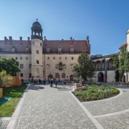Lutherhaus/Augusteum: Lutherhof, Lutherstadt Wittenberg
