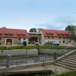 Mühleninsel Merseburg: Wohnen - Arbeiten - Wasserkraft - Sport, Merseburg
