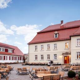 Rittergut von Barby, Gutshaus-Umbau zur Gaststätte, Möckern OT Loburg