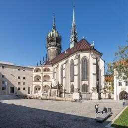 Schlosskirche, Sicherung, Sanierung und Restaurierung, Lutherstadt Wittenberg