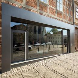Speicher, Umbau zum Wohnhaus, Halle (Saale)