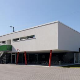 Sportplatz-Funktionsgebäude des SV Arminia '53 Magdeburg e.V., Magdeburg